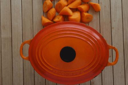 Azukibohnen-mit-Karotten