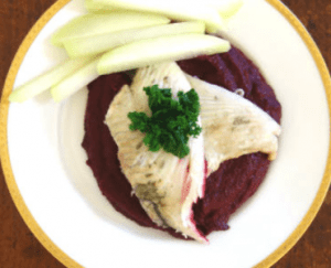 Tellergericht Fisch & Gemüse